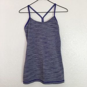 Lululemon Power Y Tank Wee Are From Space Brusied